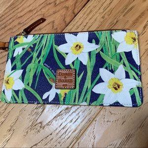 Like new Dooney & Bourke Daffodil wristlet!